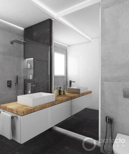 minimalistick koupelna guest gray perfecto design. Black Bedroom Furniture Sets. Home Design Ideas