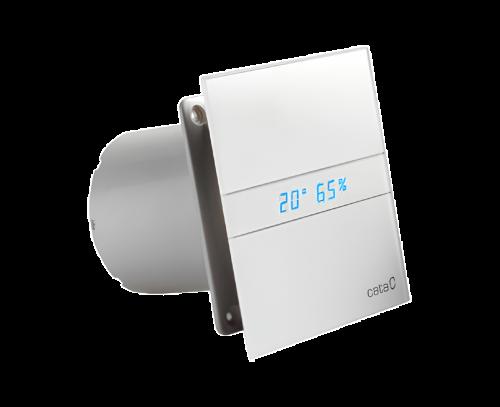 E-100 GTH koupelnový ventilátor axiální s automatem, 8W, potrubí 100mm, bílá