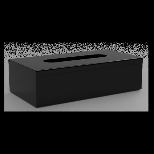 Zásobník na papírové kapesníčky   černá