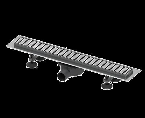 TECElinus |  sprchový profil | 700mm | s designovým roštem