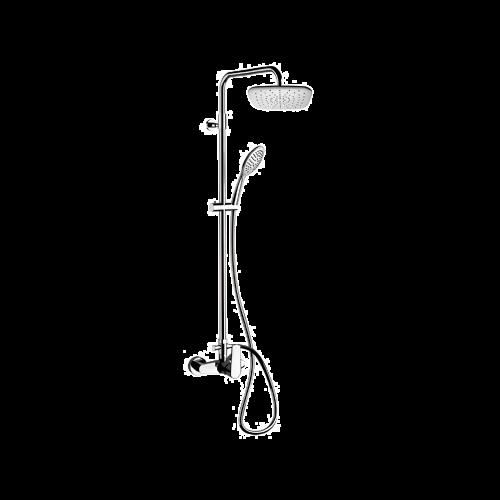 V | Sprchový set Vanity | nástěnný | Pákové | 200 x 200 mm | chrom