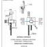 Q 65   Komplet set systému bidetové spršky Qubika II   chrom lesk