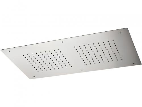 Vestavná sprchová hlavice | 700x400 mm | chrom lesk