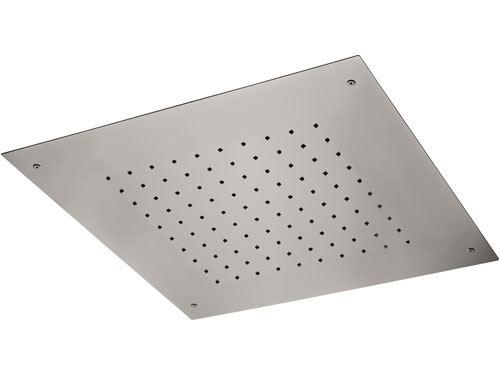 Vestavná sprchová hlavice | 430 x 430 mm | čtvercová | nerez