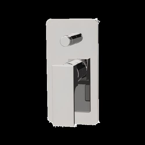 AU | Podomítkový modul Absolute | dvoucestný | pákový tlakový | chrom lesk