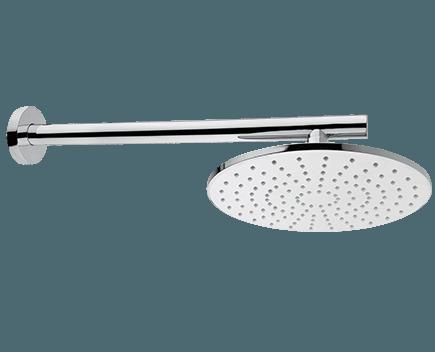 Sprchová hlavice MIRAME Ø 300 mm se sprchovým ramenem   závěsná nástěnná