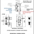 Q 93   Podomítkový modul QUBIKA   trojcestný   chrom lesk