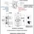 QT92   Podomítkový modul QUBIKA THERMO   dvoucestný   termostatický   chrom lesk