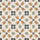 Dlažba Art Nouveau EMPIRE COLOUR | 200x200 | mat