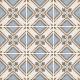 Dlažba Art Nouveau TURIN COLOUR | 200x200 | mat