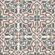 Dlažba Art Nouveau FOLIES BERGÈRE | 200x200 | mat