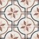 Dlažba Art Nouveau EMBASSY COLOUR | 200x200 | mat