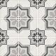 Dlažba Art Nouveau CAPITOL GREY | 200x200 | mat