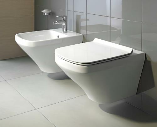 WC DuraStyle 370 x 540   závěsné   rimless