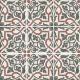 Dlažba Art Nouveau FOLIES BERGÈRE   200x200   mat