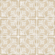 Dlažba Art Nouveau LA RAMBLA BISCUIT | 200x200 | mat