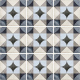 Dlažba Art Nouveau PALAIS BLUE   200x200   mat