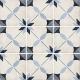 Dlažba Art Nouveau ARCADE BLUE   200x200   mat