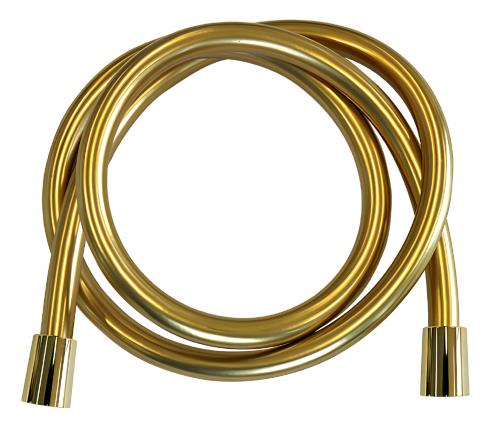 Sprchová hadice   zlatá   120 cm