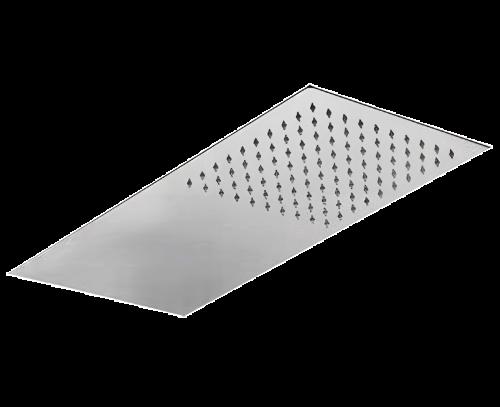 Sprchová hlavice Jazz Ultraslim | nástěnná | 500x250 | leštěná nerez | hranatá | chrom lesk