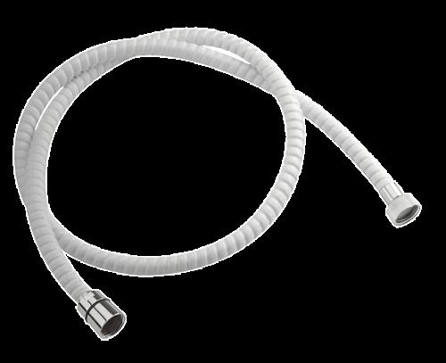 Sprchová hadice bílá | 150 cm