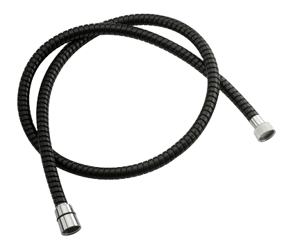 Sprchová hadice   černá   150 cm