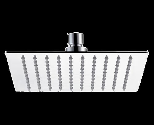 Sprchová hlavice SoffiSlim SQ | závěsná | 200 x 200 mm | čtvercová | leštěná nerez | chrom lesk