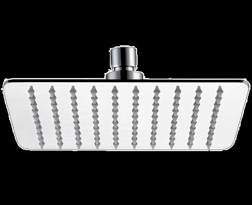 Sprchová hlavice SoffiSlim SR | závěsná | 400 x 400 mm | čtvercová se zaoblenými rohy | chrom lesk