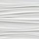 Obklad 3D WALL Ribbon White | 400x800 | Matt.