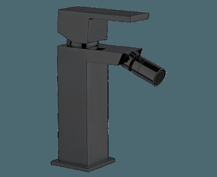 Bidetová baterie UNIKA | stojánková páková | černá
