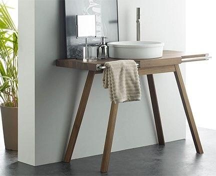 Deska pod umyvadlo Berna | 1100 x 500 x 745 | Teak