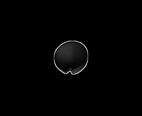 Držák bidetové spršky černý