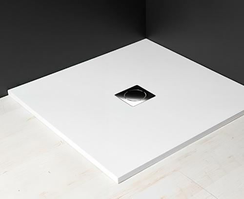 1200x1000x30 mm | vanička litý mramor | bílá | s možností úpravy rozměru