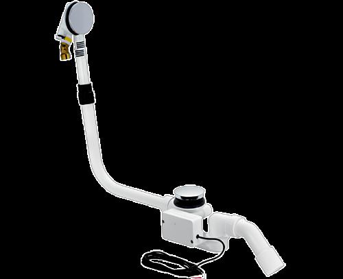 Sifon vanový Multiplex Trio-odtok/přepad | automat s napouštěním přepadem