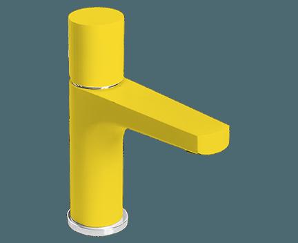 Umyvadlová baterie MIAMI | páková | stojánková | žlutá