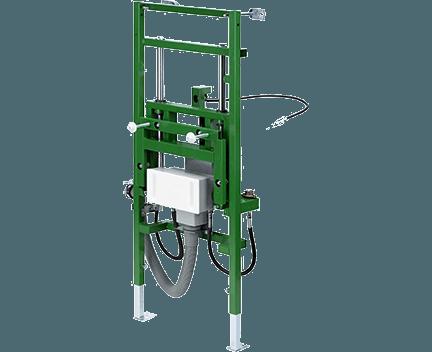 Viega Eco Plus-umyvadlový prvek individuálně výškově stavitelný