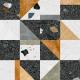 Dlažba Stracciatella Stellaro R Multicolor | 800x800 | mat