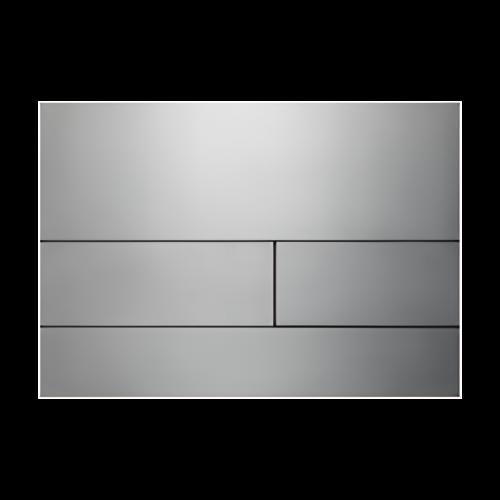 Ovládací WC modul  Square II broušená ocel