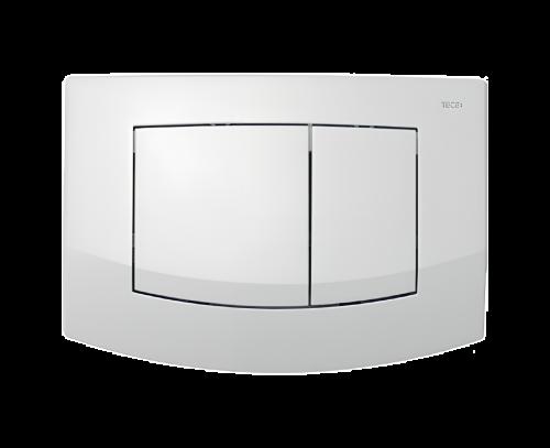 Ovládací WC modul  Ambia dvojčinný z bílého plastu