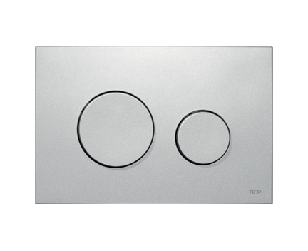 Ovládací WC modul Loop | matný chrom | antibakteriální