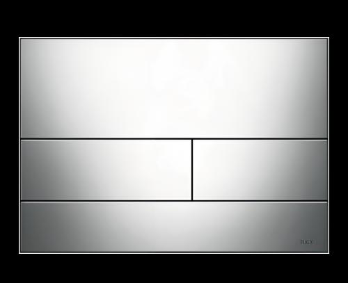Ovládací WC modul  Square II   chrom