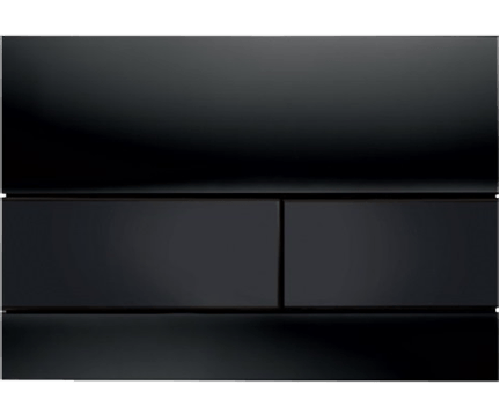 Ovládací WC modul  Square II | černá mat RAL 9005