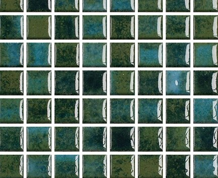 Mozaika Acqua Emerald   18x18mm   lesk