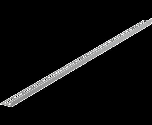 12   Nerezová lišta pro spádovanou podlahu   1000 mm   pravá