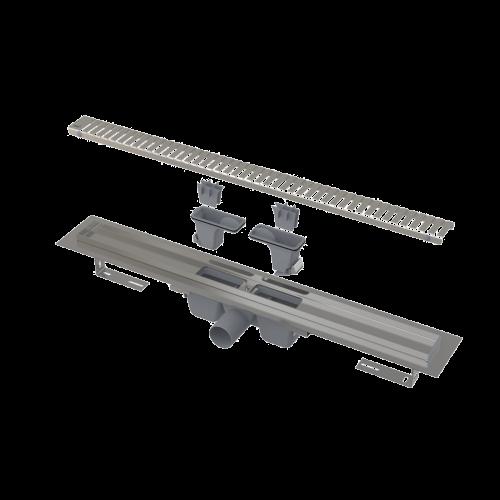 Komplet liniový podlahový žlab   550   line