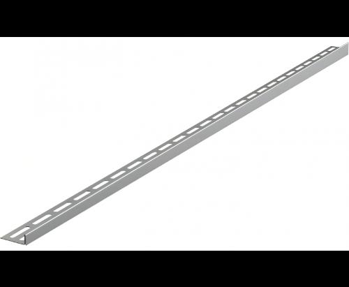 12   Nerezová lišta pro spádovanou podlahu   1000 mm   oboustranná