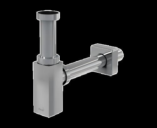Sifon umyvadlový Ø32 DESIGN celokovový, hranatý A401