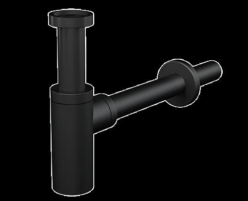 Sifon s kalovým válcem   černá   DN32