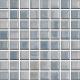 Mozaika Acqua Blue & Pearl | 18x18mm | lesk