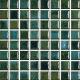 Mozaika Acqua Emerald | 18x18mm | lesk